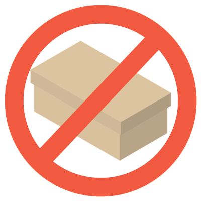 No Box Product Icon